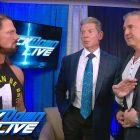 AJ Styles pense que Shane McMahon est parfait pour exécuter WWE Raw