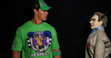 La star de la WWE dit qu'il était obligé de lutter contre John Cena au lieu du démon à WrestleMania 36