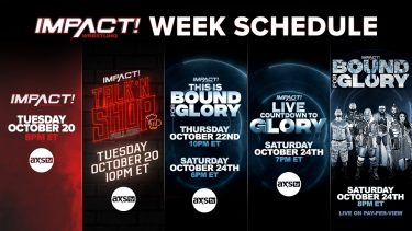 20 octobre 2020 - Actualités IMPACT Wrestling, résultats, événements, photos et vidéos