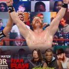 Résultats bruts de la WWE (26/10) - Match de qualification de la série Survivor - Sheamus a battu Matt Riddle par pinfall