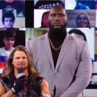 AJ Styles a fait ses débuts avec son nouveau garde du corps à la WWE Monday Night Raw