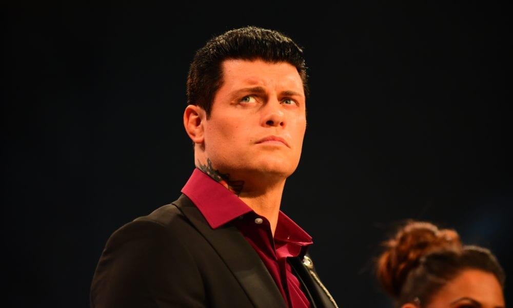 Cody Rhodes se demande à quel point les notes d'AEW Dynamite pourraient être élevées sans la compétition WWE NXT