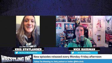 Kris Statlander révèle les plans de match de squash de la WWE abandonnés, ainsi que les titres féminins possibles de l'AEW