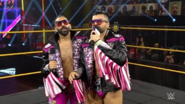 Les frères Singh reviennent à la WWE 205 en direct comme les Bollywood Boyz