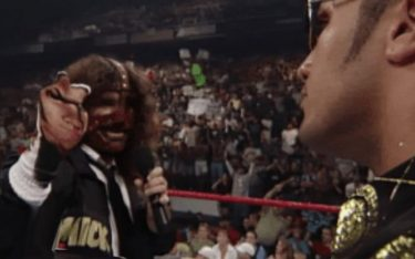 Mick Foley donated pieces of WWE history to be buried with fans