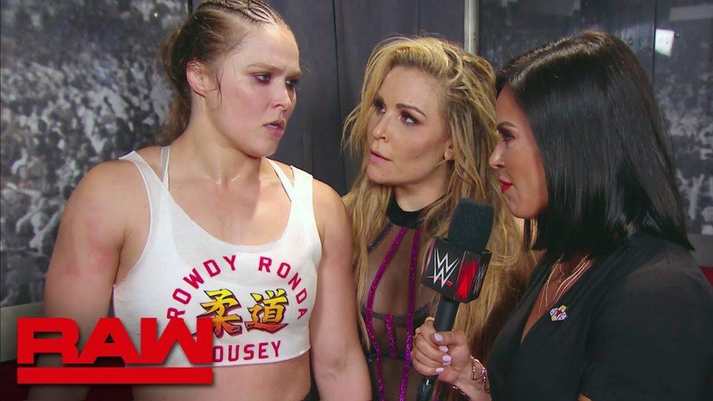 Paul Heyman taquine Ronda Rousey signant une prolongation de contrat avec la WWE
