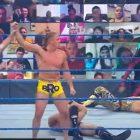Résultats WWE Smackdown (10/2) - Match par équipe à 6 hommes - Matt Riddle et Lucha House Party (Lince Dorado et Gran Metalik) ont battu le roi Corbin, Cesaro (pin) et Shunsuke Nakamura