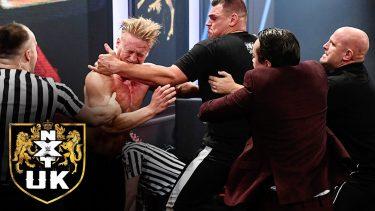 Résultats de NXT UK - 22/10/20 (Signature du contrat de titre NXT UK, matchs de la Heritage Cup)