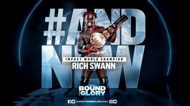 Rich Swann sacré nouveau champion du monde de l'Impact à Bound For Glory