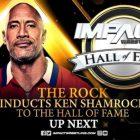 The Rock intronise Ken Shamrock au Temple de la renommée de l'Impact, Shamrock remercie Vince McMahon