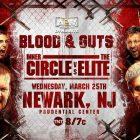 Mise à jour sur le match «Blood & Guts» d'AEW