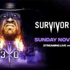 La WWE présentera les derniers adieux de Undertaker à Survivor Series le 22 novembre
