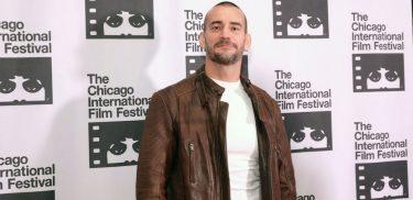 Former WWE superstar CM Punk appears at the 2018 Chicago International Film Festival.