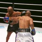 Mike Tyson d'hier soir contre Roy Jones, Jr. Exhibition Bout se termine par un match nul