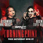Dashwood et Grace unissent leurs forces, et plus encore annoncés pour Turning Point - Actualités, résultats, événements, photos et vidéos d'IMPACT Wrestling