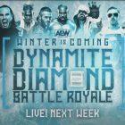 Jeu de cartes de match complet pour le spécial AEW Dynamite 'Winter Is Coming' de cette semaine