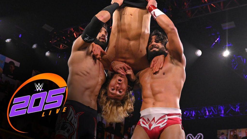 Matchs en direct et segment de la WWE 205 annoncés pour ce soir