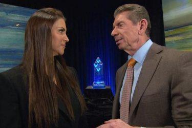 Stephanie McMahon and Vince McMahon