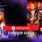 WWE Survivor Series 2020 Diffusion en direct GRATUITE |  Comment regarder Survivor Series en direct en ligne, chaîne de télévision, aperçu et carte de match