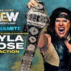 Changement apporté au match par équipe féminine, Ethan Page pour faire ses débuts à AEW Dynamite