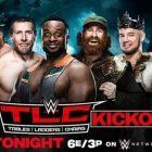La WWE annonce un énorme match par équipe à 8 joueurs pour l'émission TLC Kickoff de ce soir