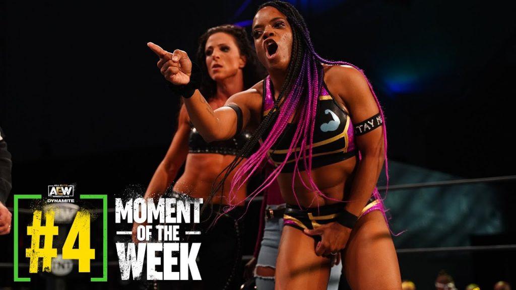 Big Swole et Serena Deeb victorieux tandis que Britt Baker humilie Thunder Rosa sur AEW Dynamite