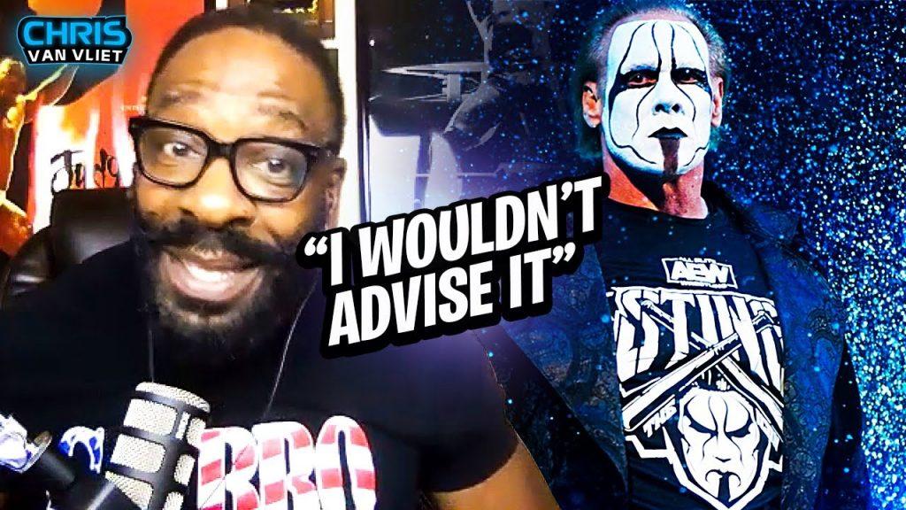 Booker T dit qu'il déconseillerait la Sting Wrestling pour AEW, pourquoi il pense que Sting a signé avec AEW