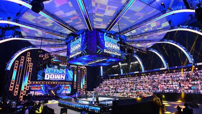 How Big The WWE ThunderDome Technical Team Is, Drew McIntyre And WWE Executives Talk ThunderDome
