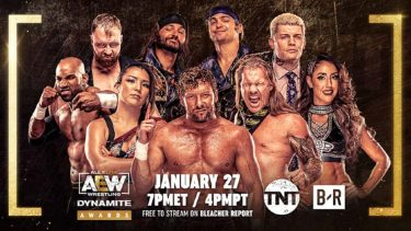 AEW Dynamite Awards to livestream free on Bleacher Report