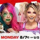 Asuka défendra son titre féminin contre Alexa Bliss cette semaine sur WWE RAW