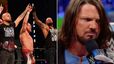 AJ Styles opened up about Gallows and Anderson