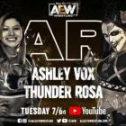 Ashley Vox fait ses débuts pour AEW dans l'épisode de Dark de la semaine prochaine