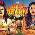 Britt Baker affrontera Thunder Rosa à Beach Break;  Deeb conserve le titre féminin NWA