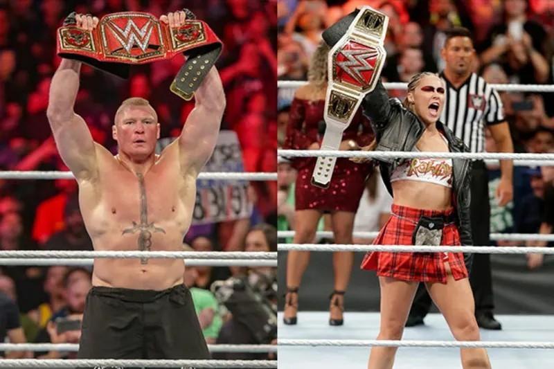 Brock Lesnar ou Ronda Rousey: qui est le plus susceptible de revenir à la WWE en 2021?  |  Rapport du blanchisseur