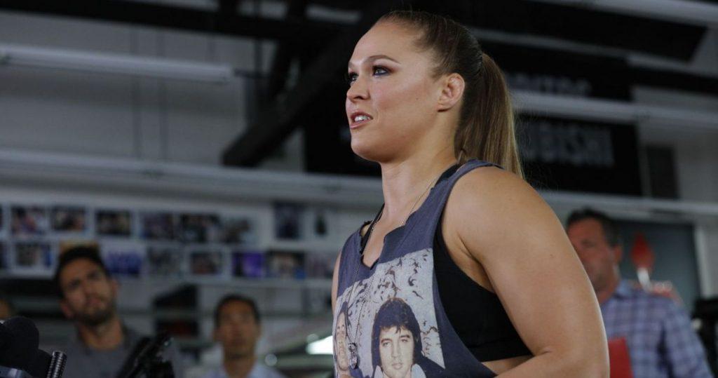 Détails dans les coulisses de l'entraînement de Ronda Rousey avant le retour présumé de la WWE