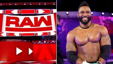 Kofi Kingston picked up a jaw injury after taking a knee strike from Cedric Alexander