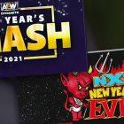 Le Smash du Nouvel An d'AEW élimine le mal du Nouvel An de la WWE NXT dans l'audience