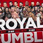 Liste actuelle des concurrents de la WWE Royal Rumble 2021 (mise à jour 1/23)