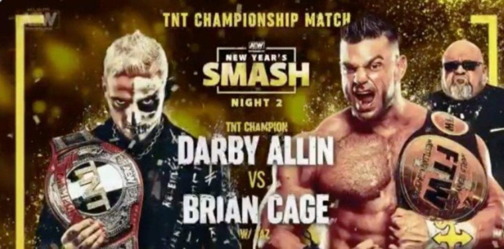Smash Night Two du nouvel an AEW et la programmation complète de NXT le 13 janvier