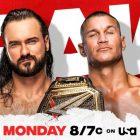 Drew McIntyre contre Randy Orton prêt pour le Raw de demain soir