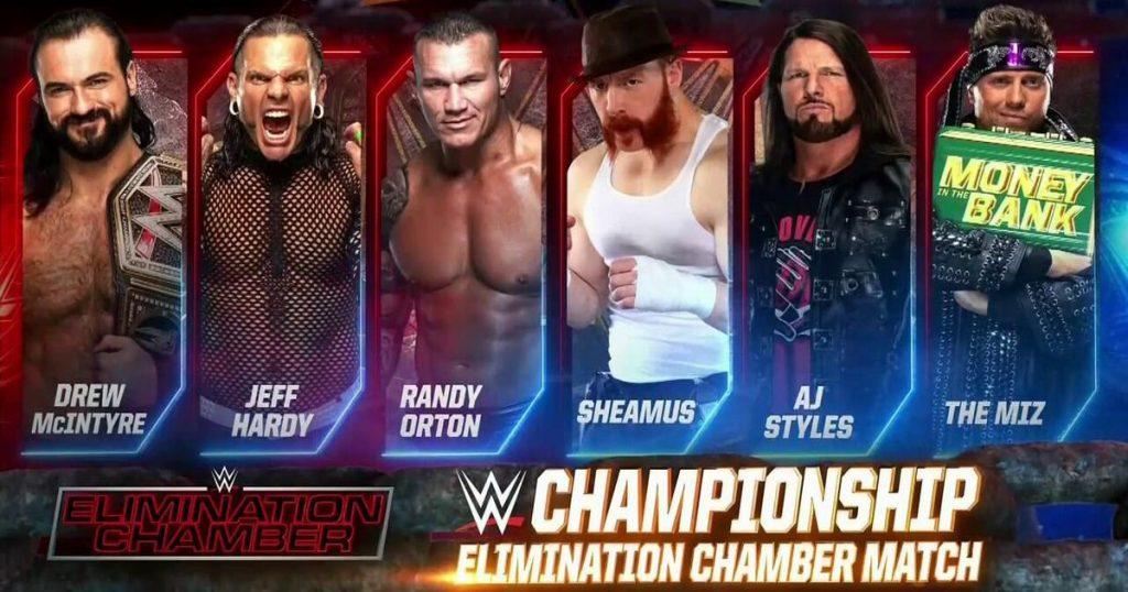 WWE Elimination Chamber 2021: comment regarder, heures de début, carte de match et réseau WWE