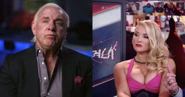Ric Flair and Lacey Evans.