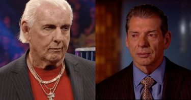 Ric Flair and Vince McMahon.