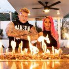 """""""Brock Lesnar Look-A-Like"""" Parker Boudreaux taquine sa collaboration avec Eva Marie après la soirée de visionnage du Royal Rumble"""