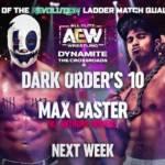 Diverses nouvelles: 10 des Dark Order parlent de son match sur Dynamite, John Silver chante, la WWE publie des photos `` à voir ''
