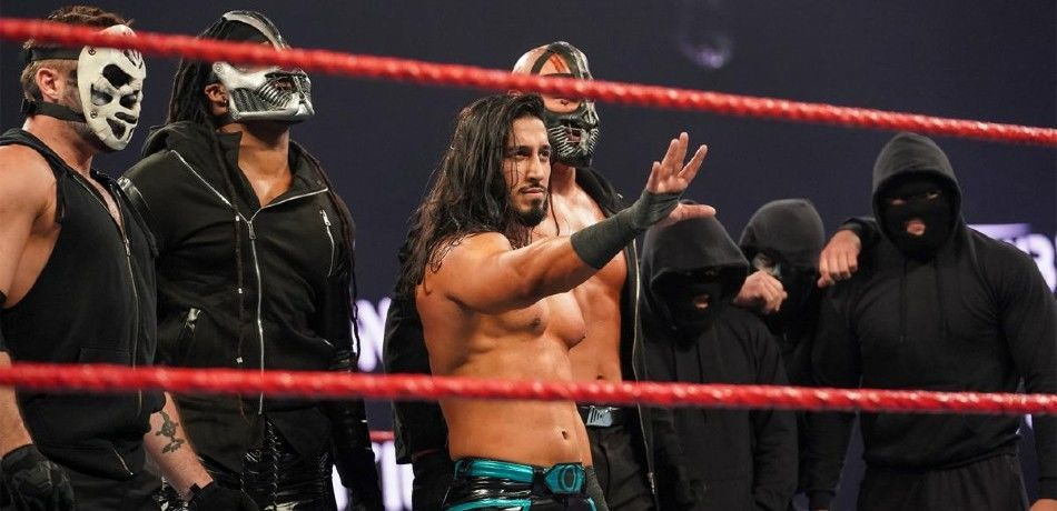 Retribution, led by Ali, appears on WWE television