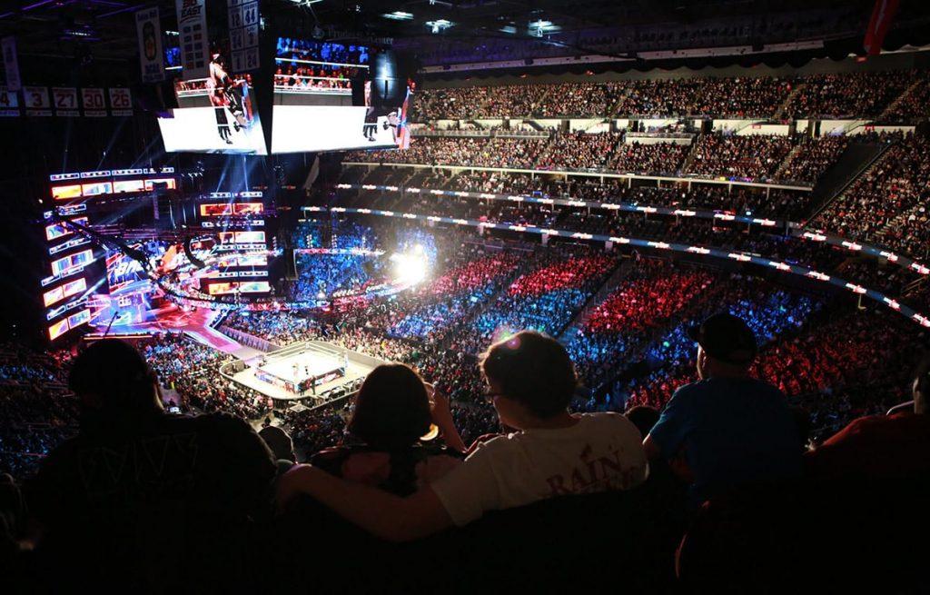 La WWE et l'AEW pourront bientôt gérer des salles du New Jersey