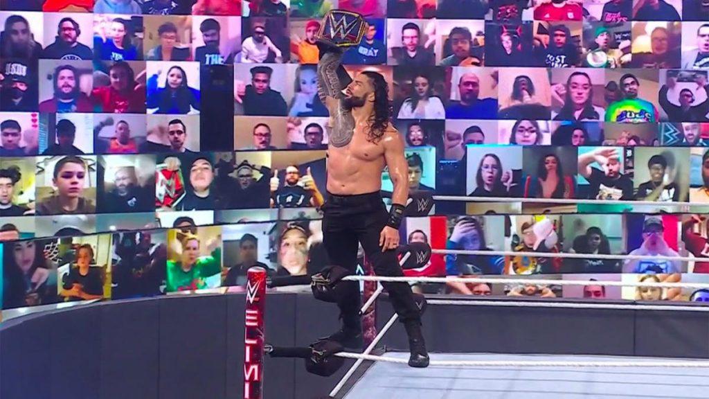 Résultats de la WWE Elimination Chamber 2021, récapitulatif, notes: deux changements majeurs de titre soulignent un spectacle choquant