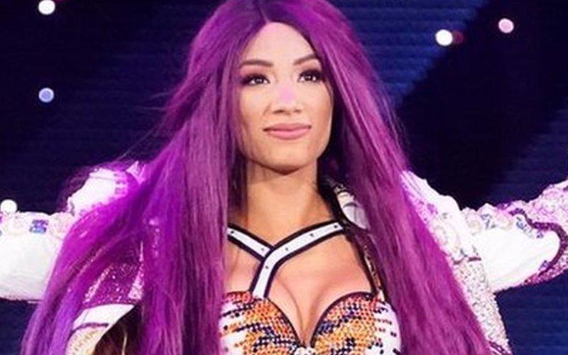 Sasha Banks dit que ses cheveux violets ont contribué aux problèmes de dépression