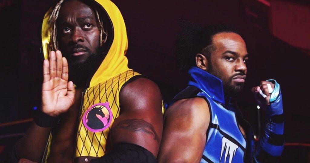 Le nouveau jour de la WWE lance une bague inspirée de Mortal Kombat à l'état brut